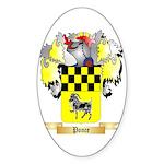 Ponce Sticker (Oval 50 pk)