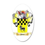 Ponce 20x12 Oval Wall Decal