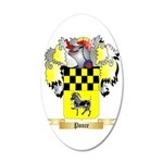 Ponce 35x21 Oval Wall Decal
