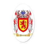 Pomroy Oval Car Magnet