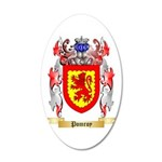 Pomroy 20x12 Oval Wall Decal