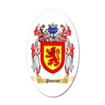 Pomroy 35x21 Oval Wall Decal