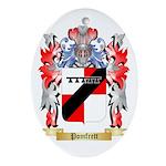 Pomfrett Oval Ornament