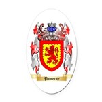 Pomeroy Oval Car Magnet