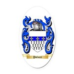 Polucci Oval Car Magnet