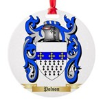 Polson Round Ornament