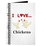 I Love Chickens Journal