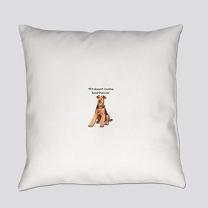 Airedale Terrier Friends Everyday Pillow
