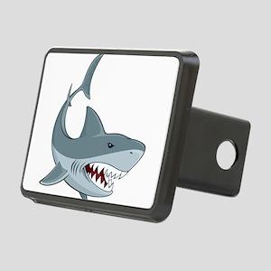 Shark week Rectangular Hitch Cover