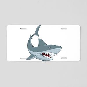 Shark week Aluminum License Plate