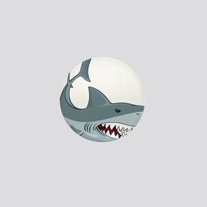 Shark week Mini Button