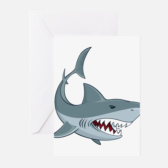 Shark week Greeting Cards