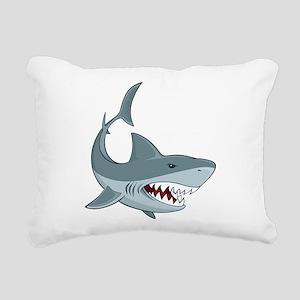 Shark week Rectangular Canvas Pillow