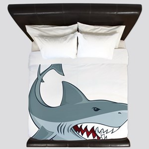 Shark week King Duvet