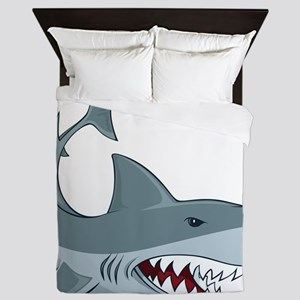 Shark week Queen Duvet