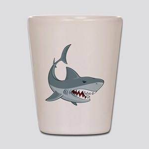 Shark week Shot Glass