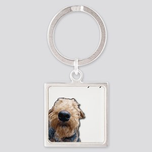 Airedale Terrier Friends Keychains