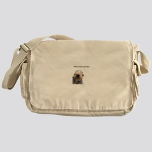 Airedale Terrier Friends Messenger Bag