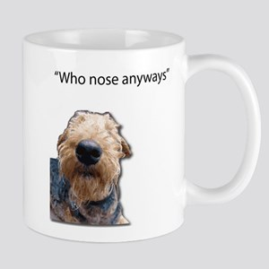Airedale Terrier Friends Mugs