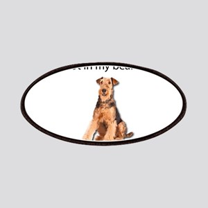 Airedale Terrier Friends Patch