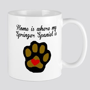 Home Is Where My Springer Spaniel Is Mugs