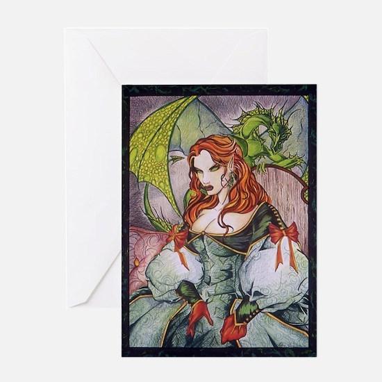 Elven Royalty Greeting Card