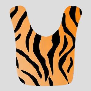 Faux Tiger Print Bib