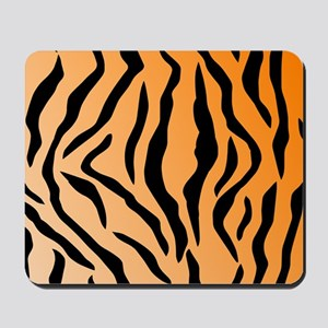 Faux Tiger Print Mousepad