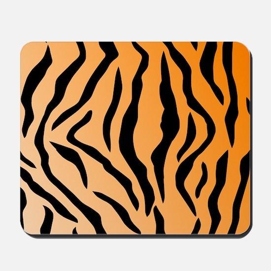 Faux Tiger Print Mousepad