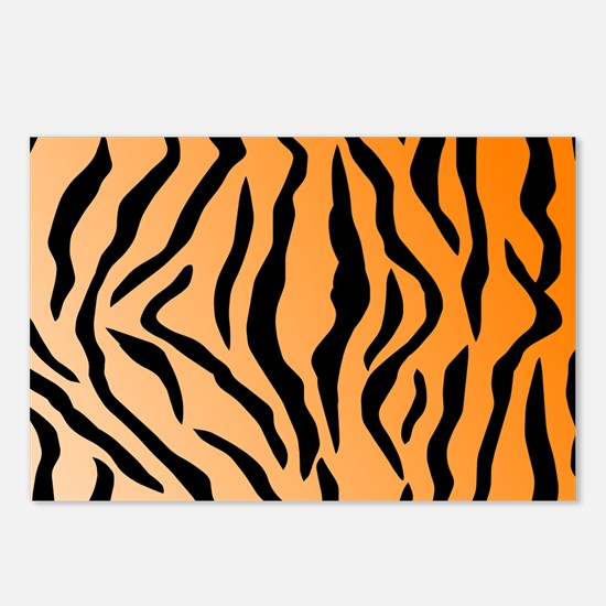 Faux Tiger Print Postcards (Package of 8)
