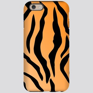 Faux Tiger Print iPhone 6 Tough Case