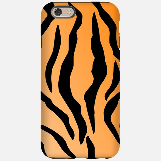Faux Tiger Print iPhone 6 Tough Case