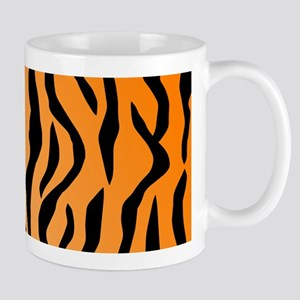 Faux Tiger Print Mugs