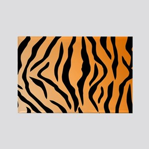 Faux Tiger Print Magnets