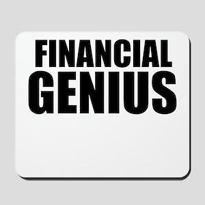 Financial Genius Mousepad