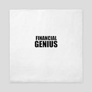 Financial Genius Queen Duvet