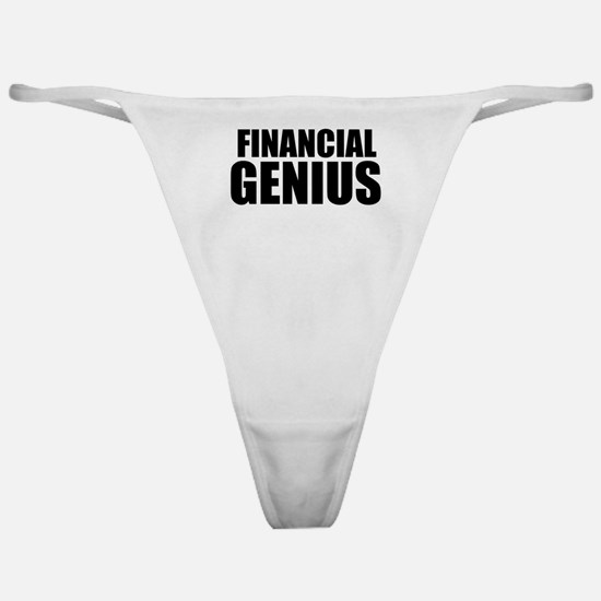 Financial Genius Classic Thong