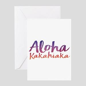 Aloha Kakahiaka Greeting Cards