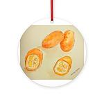 Kumquats Round Ornament