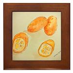 Kumquats Framed Tile