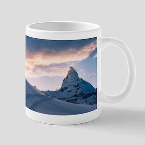 Matterhorn at sunset Mugs