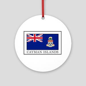 Cayman Islands Round Ornament