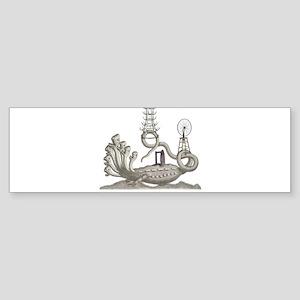 Duchamp Horror Bumper Sticker