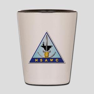 NSAWC - NAS Fallon - No Txt Shot Glass