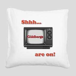 SHHH... Square Canvas Pillow