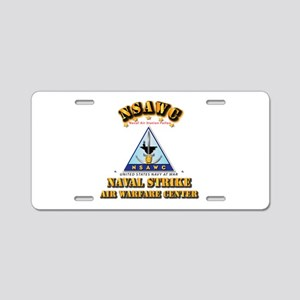 NSAWC - NAS Fallon Aluminum License Plate