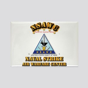 NSAWC - NAS Fallon Rectangle Magnet