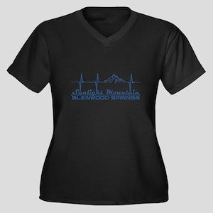 Sunlight Mountain Resort - Gle Plus Size T-Shirt