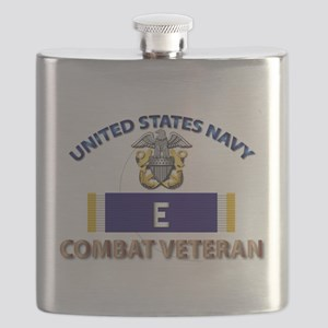 Navy E Ribbon - Cbt Vet Flask