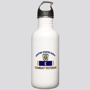 Navy E Ribbon - Cbt Ve Stainless Water Bottle 1.0L